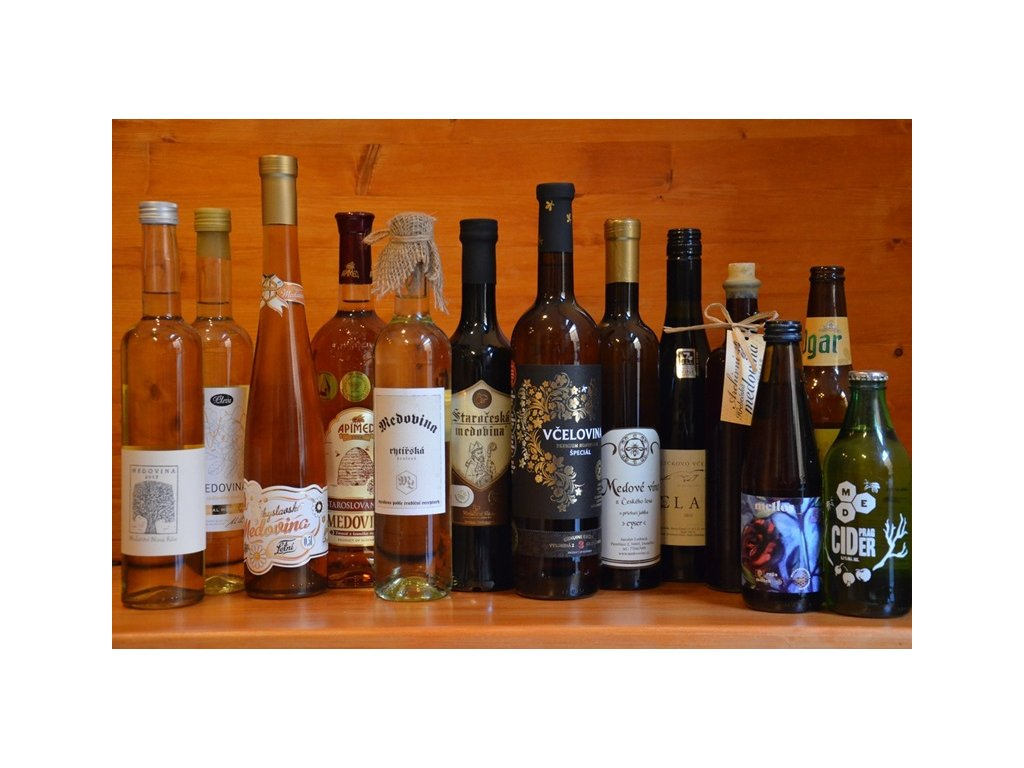 "Collection ""The best of Czech & Slovak mead"" (+ 2 bonuses)  Mead museum, 6.80l"