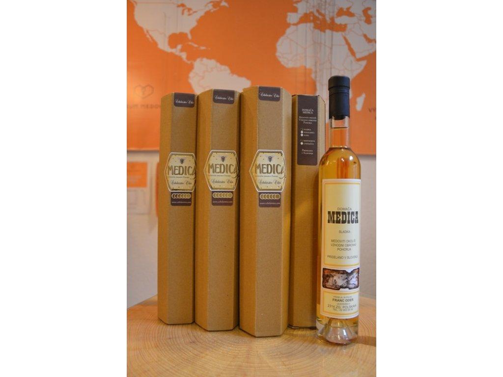 Čebelarstvo Oder - Archive chestnut honey mead - dry  0.37l, glass
