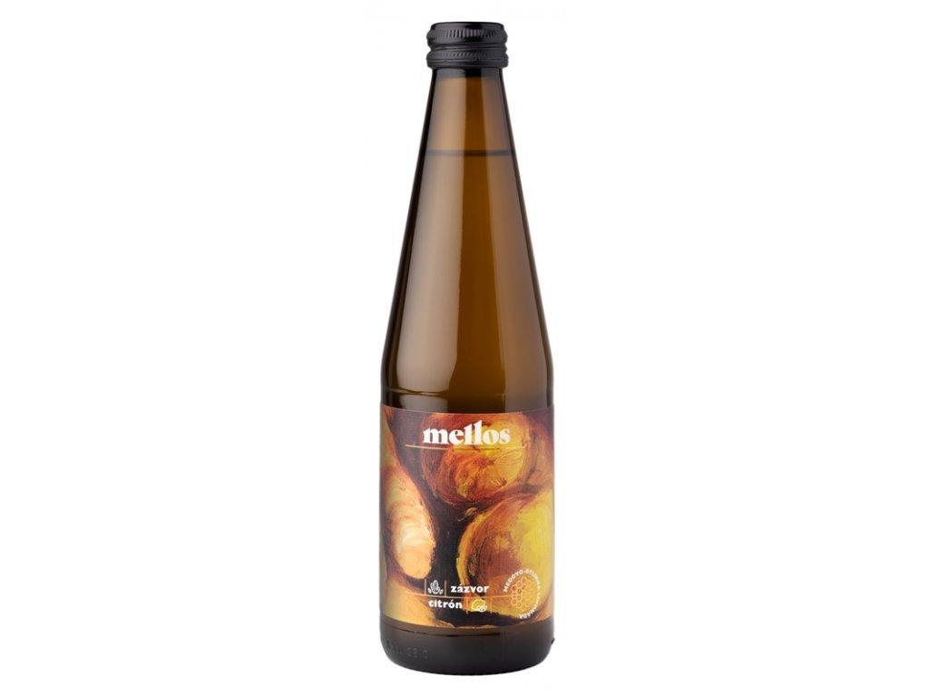 Mellos - Mellos lemonade with ginger and lemon  0.33l