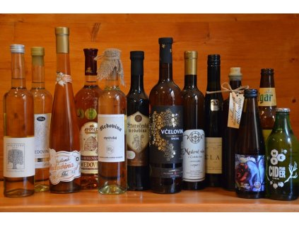 """Collection """"The best of Czech & Slovak mead"""" (+ 2 bonuses)  Mead museum, 6.80l"""